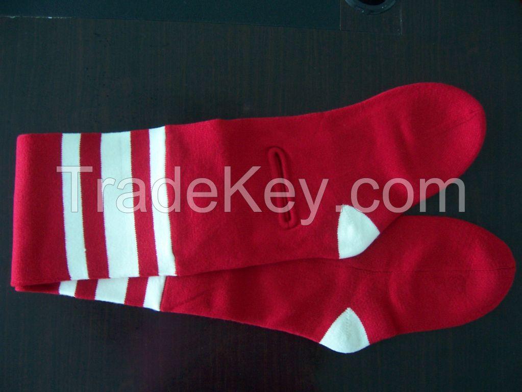 Nice quality sock shaped neck scarf