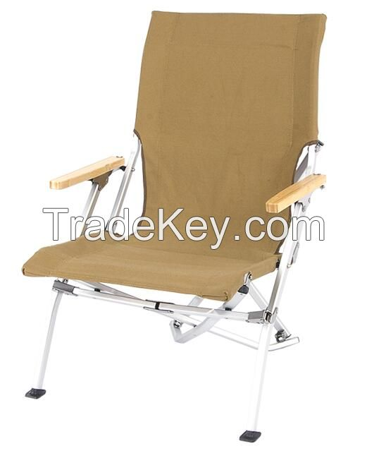 aluminum frame camping chair foldable