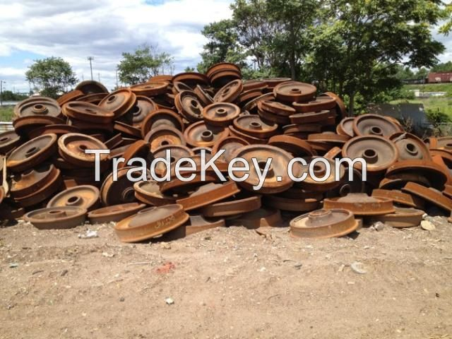 Railroad Ferrous Mixed Scrap Low Rust