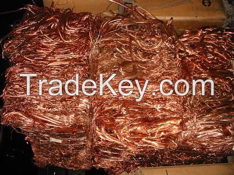 99% Pure Copper Wire Scrap Cheap Rates