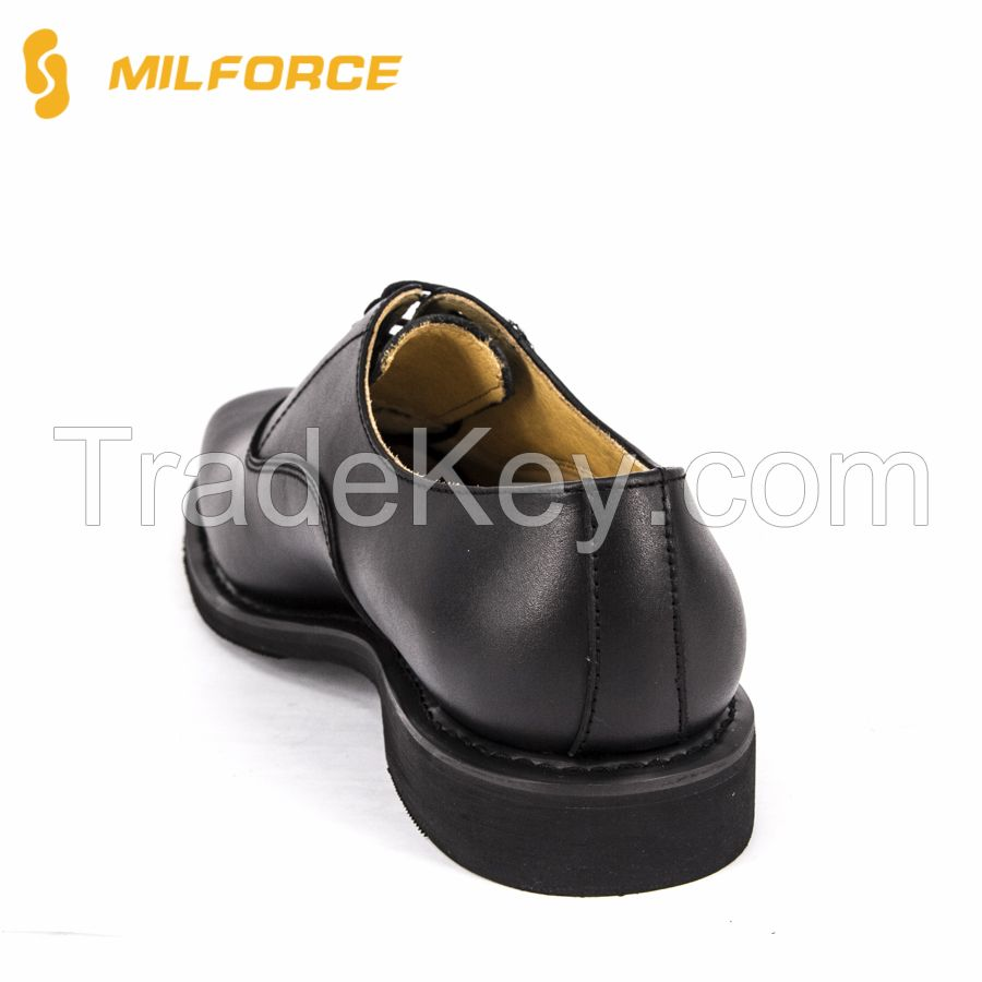 Police Men's Leather Uniform Shoes for Army