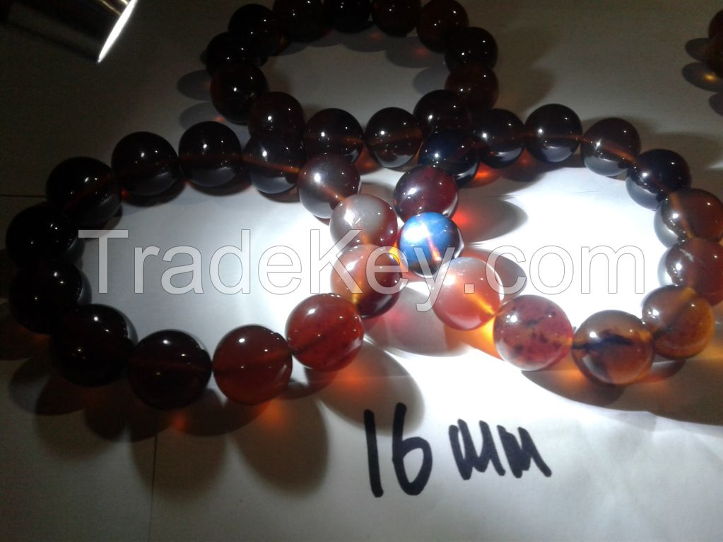 Blue Amber Bracelets