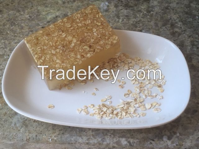 oats and honey glycerine base soap