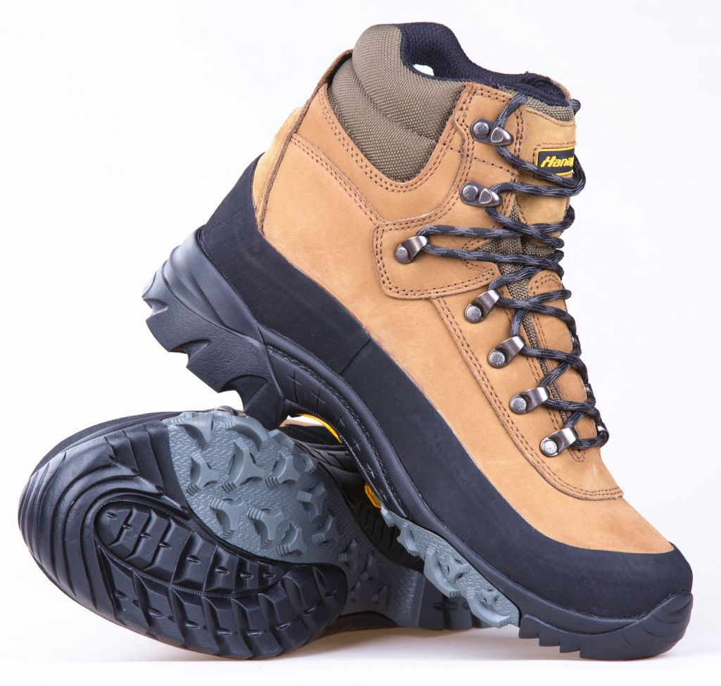 100% waterproof Genuine leather hiking shoes for men