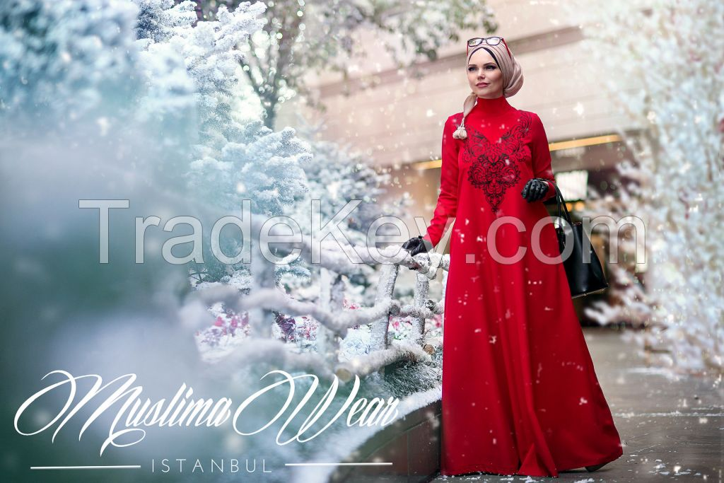 Muslima Wear Diadema Dress