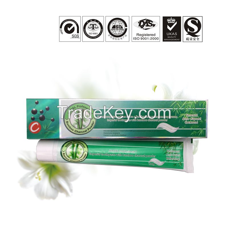 Wholesale in bulk factory price brand names very cheap China teeth whitening herbal non gel  toothpaste