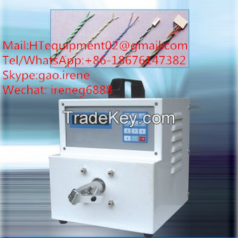 Fully-auto crimping machine for wire harness processing