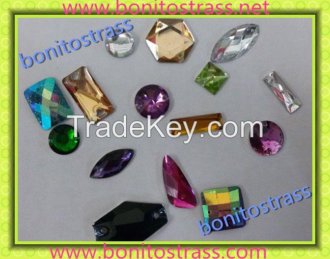 Jewelry Wholesale Handmade Rhinestone Beads Murano Glass