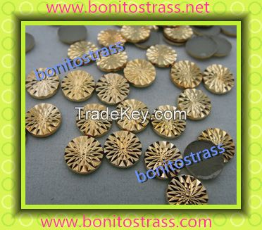 Hotfix Square Copper Pyramid Studs for Jeans