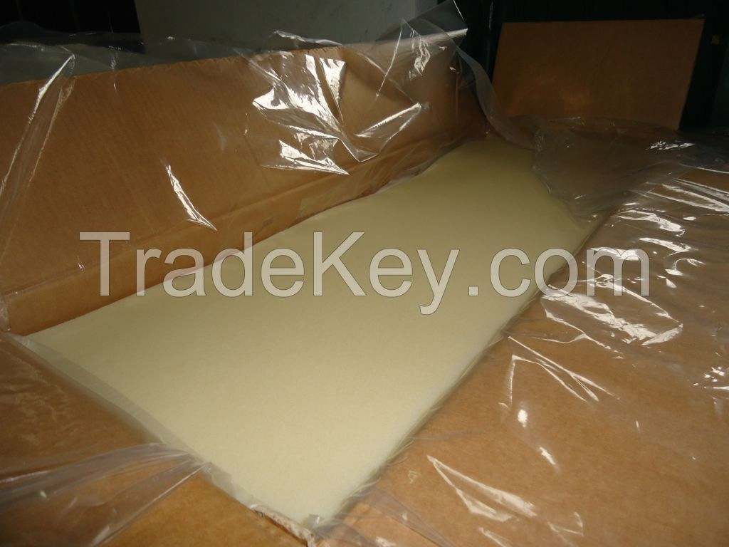 Rubber sole crepe sheet
