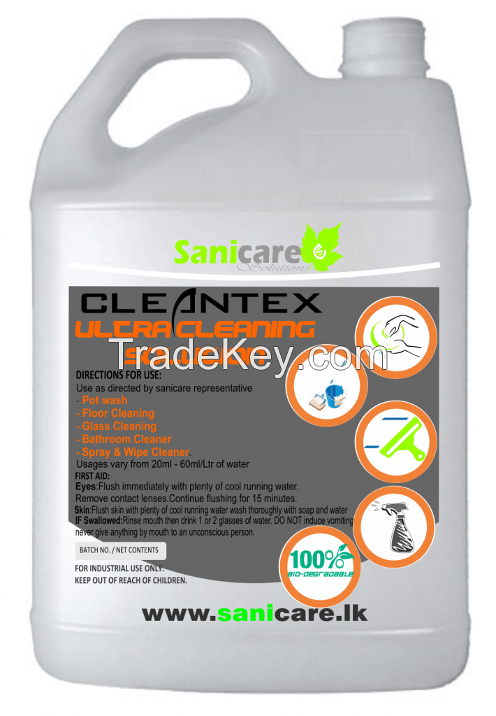 Cleantex - Ultra Cleaning Solution