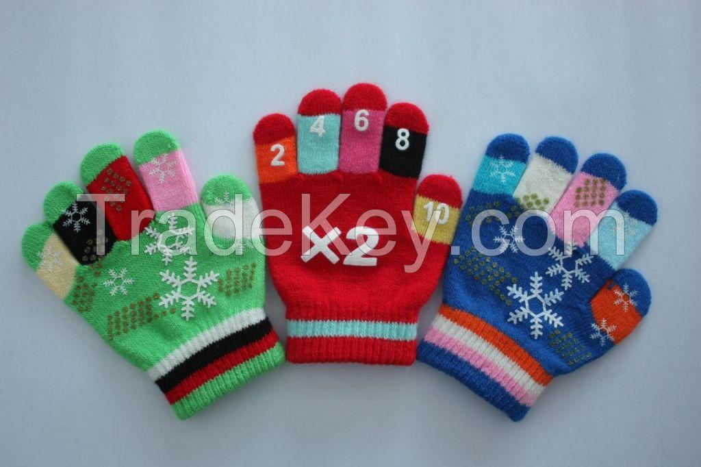 knit glove for Children