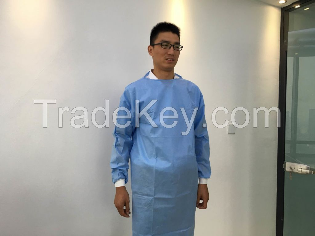 YIHE surgical gown set/xl /xxl/xxxl sterile disposable surgical gown
