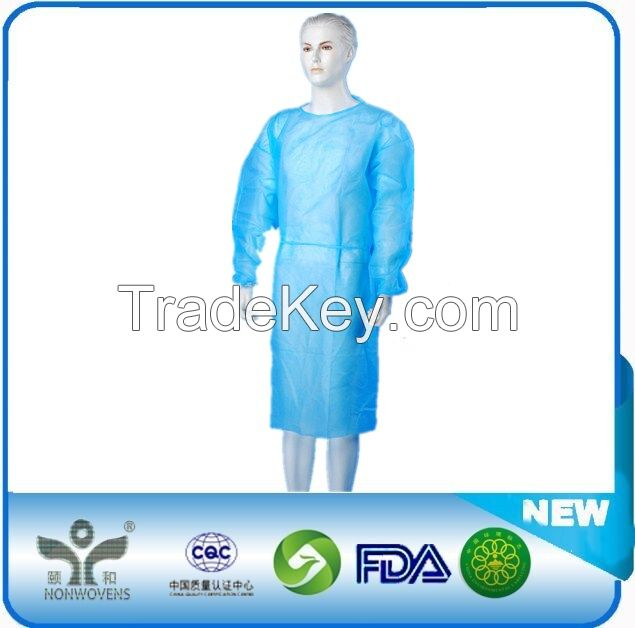 Healthcare Nonwoven Disposable Isolation Gown