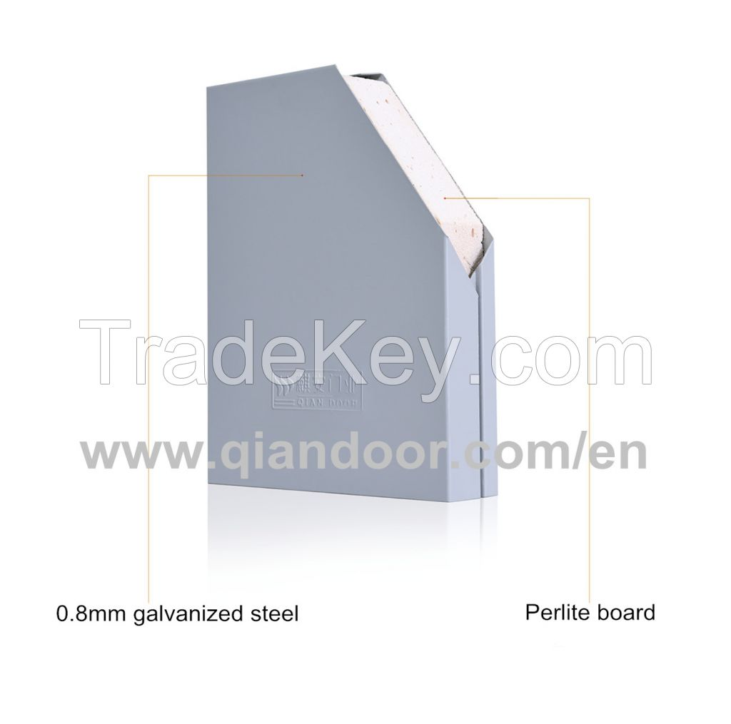Glazed Steel Fire Door