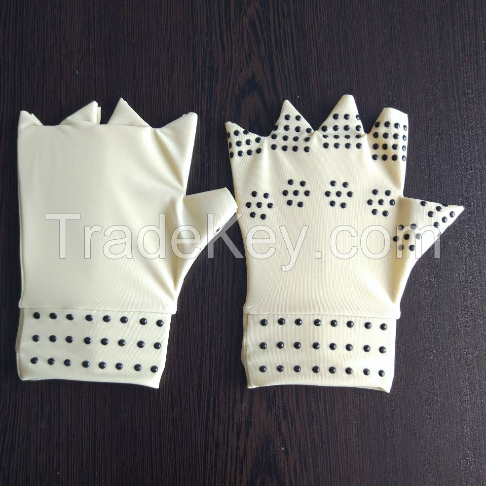 Therapy Compression Arthritis Gloves With Magnets