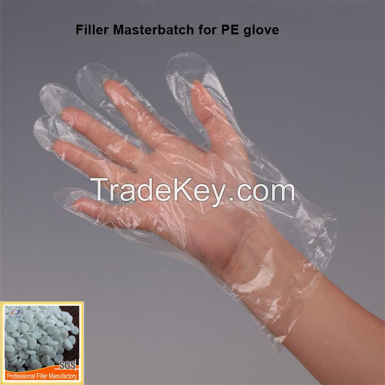 Baso4 transparent filler masterbatch for blowing film
