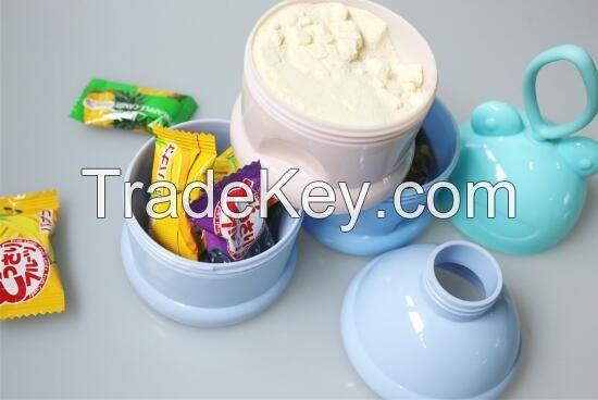 The latest 3-layered milk power tin