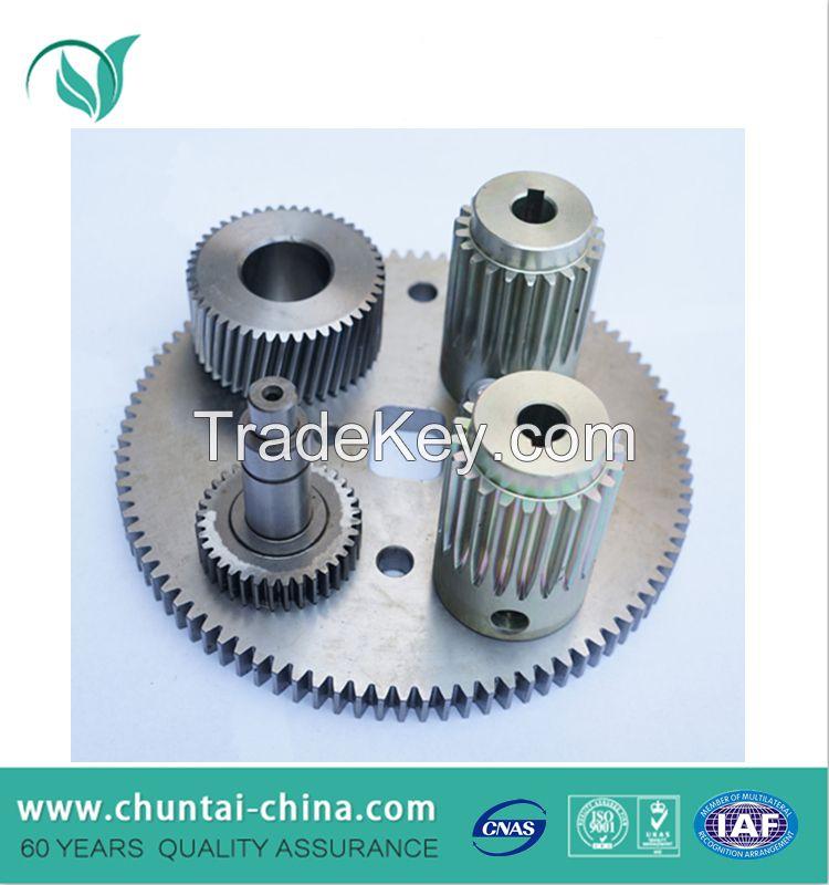 Custom CNC machining steel spur gear