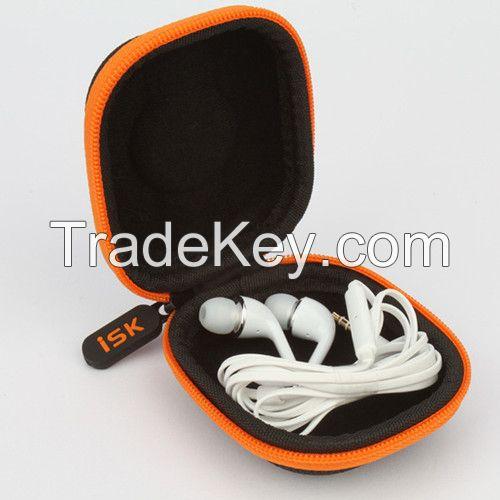personalized hard eva earphone carrying case