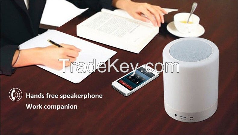 Bluetooth Speaker with Lamp