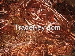 copper wire scraps milberry 99.98%