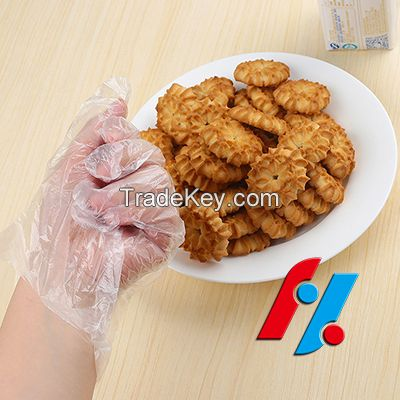 HDPE Glove plastic disposable clear