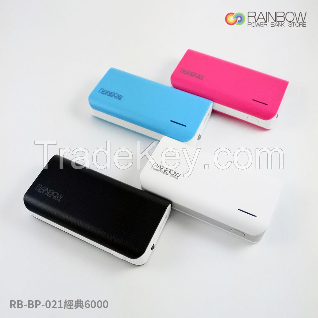 Rainbow RB-BP-021 classic Power Charger 6000mAh