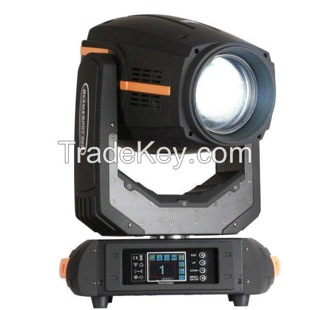 350w beam spot wash 3in1 moving head light