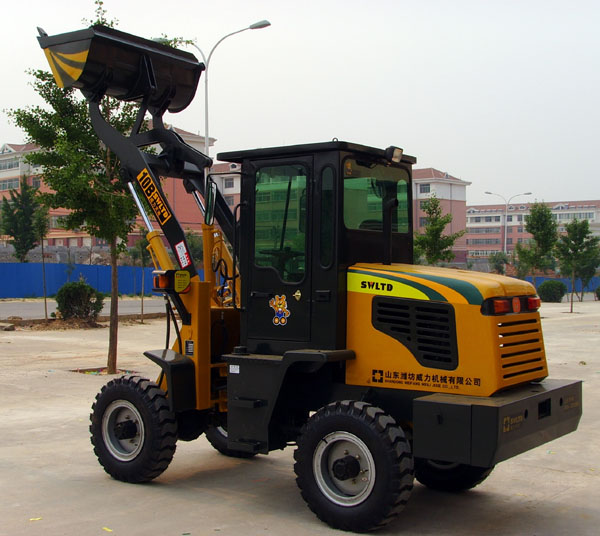 Wheel Loader With CE,EPCA