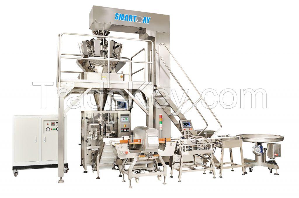 Smartweigh Multiheadweigher Vertical Packaging Machine Line