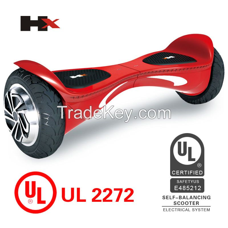 Hot Selling Colorful Hoverboard UL2272 Self Balancing Scooter