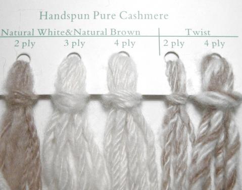 handspun cashmere yarn