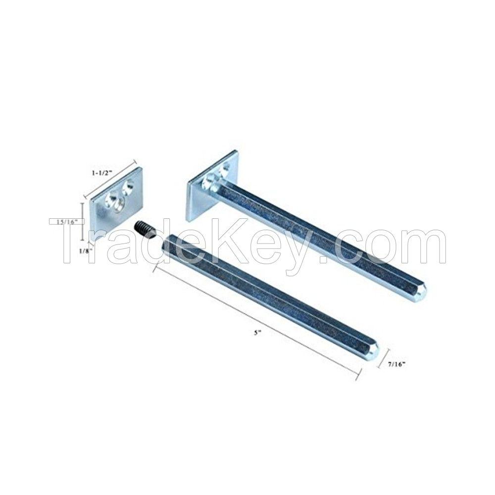 Floating Shelf Brackets - Completely Concealable Hardware Kit for Wood Shelves Easily Mount Shelves Flush to Wall