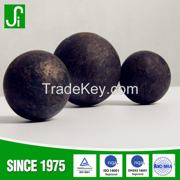 Forged Grinding Steel ball for ball mill in Power plant
