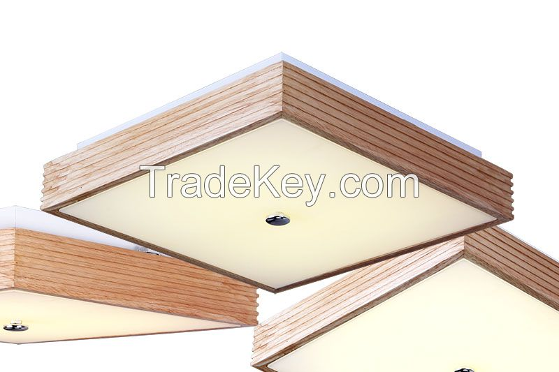 SL simple modern living room ceiling lights bedroom creative lighting ficture wood ceiling light wood ceiling lamp Y0542