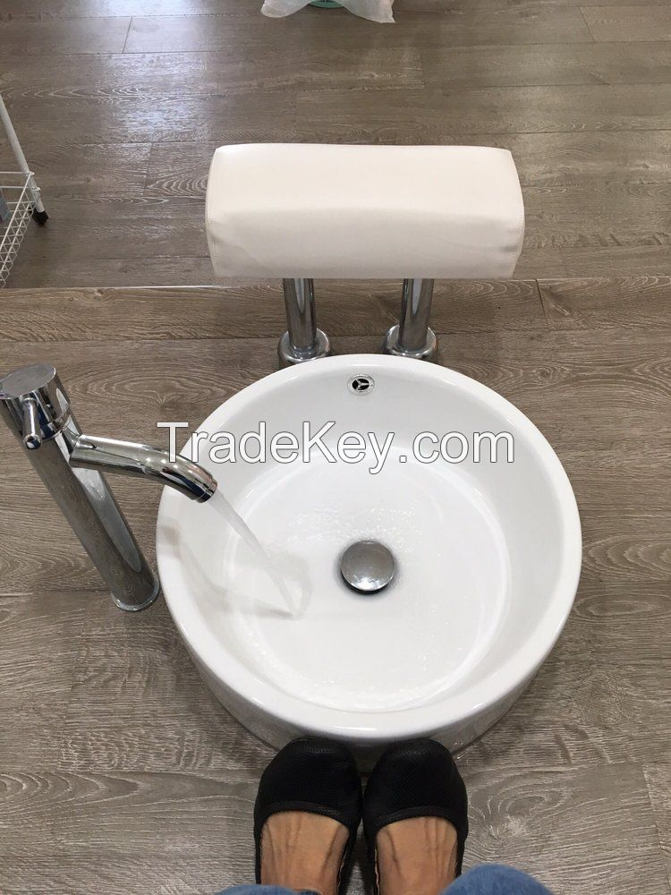 pedicure sink with magnetic jet
