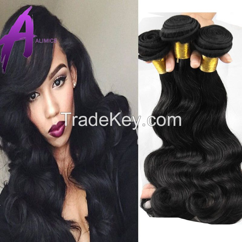 Wholesale Silky Straight hair, 100% remy virgin human hair extension, Unprocessed brazilian hair