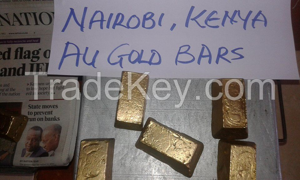 Gold Dust , Nuggets and dore Bars and Rough Diamond for sale