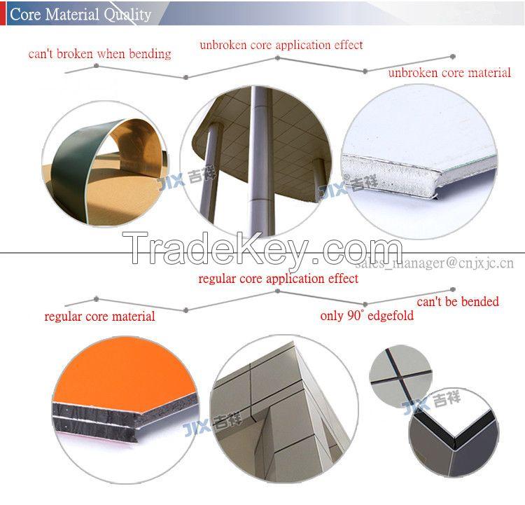 low cheap aluminum composite panel for exterior walls