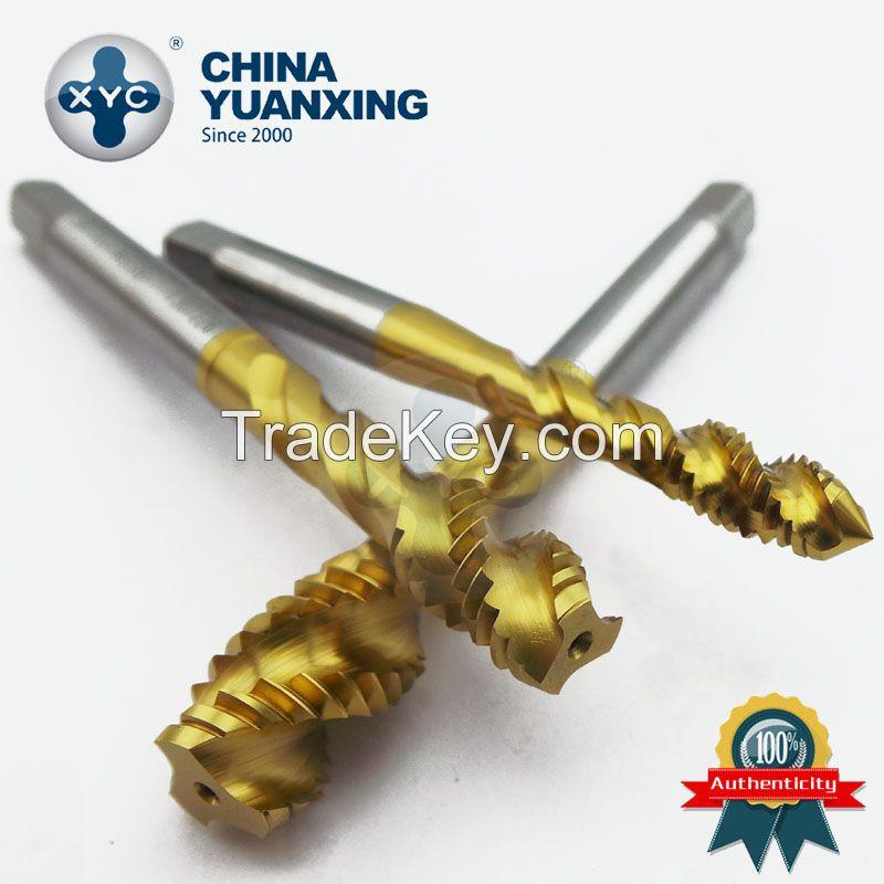 JIS/DIN standard Spiral flute taps, machine taps