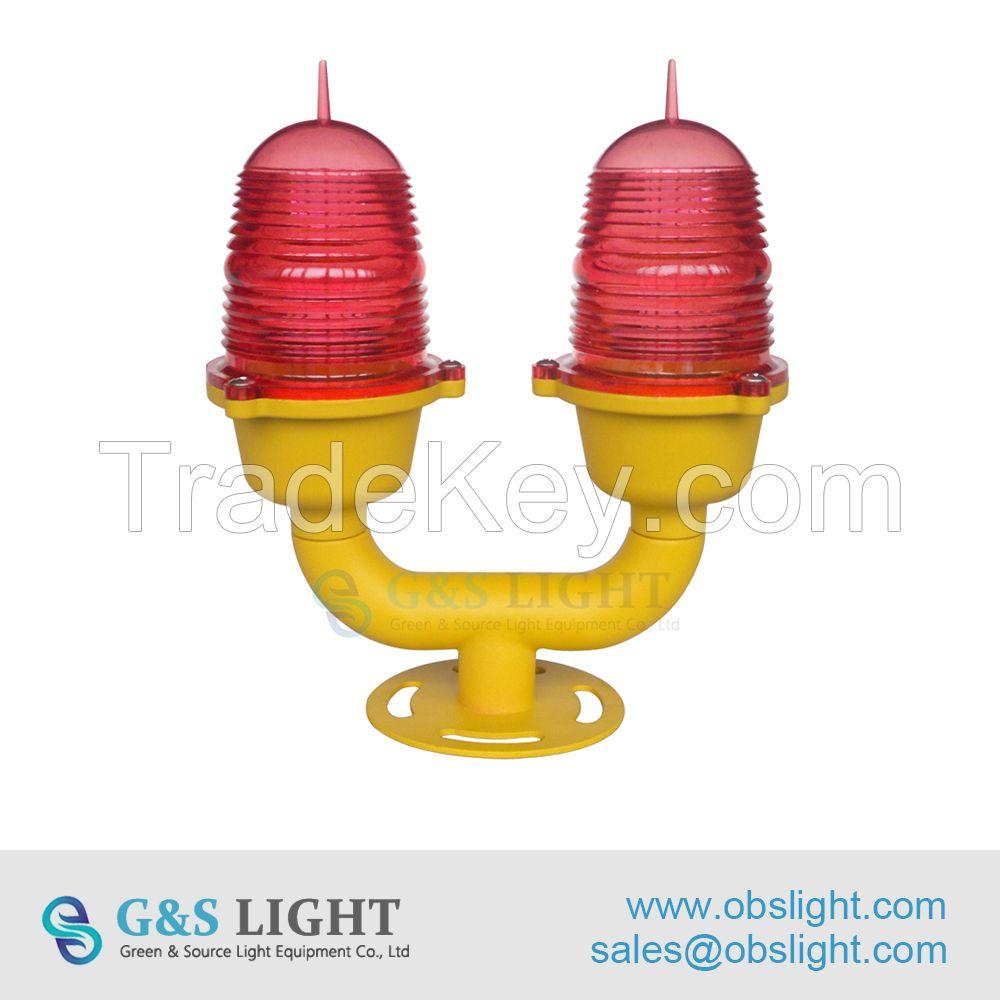 Low-intensity Double Aviation Obstruction Light/aircraft warning light
