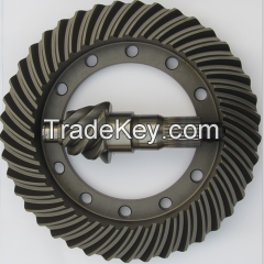 Crown wheel and pinion for Hino truck, OE NO: 41201-1101