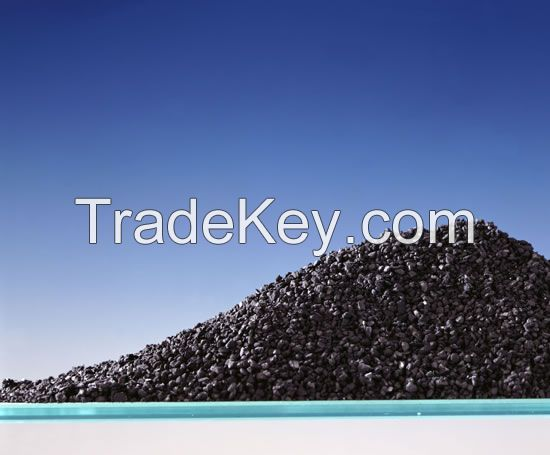 activated granular carbons material for wastewater and seawater treatment