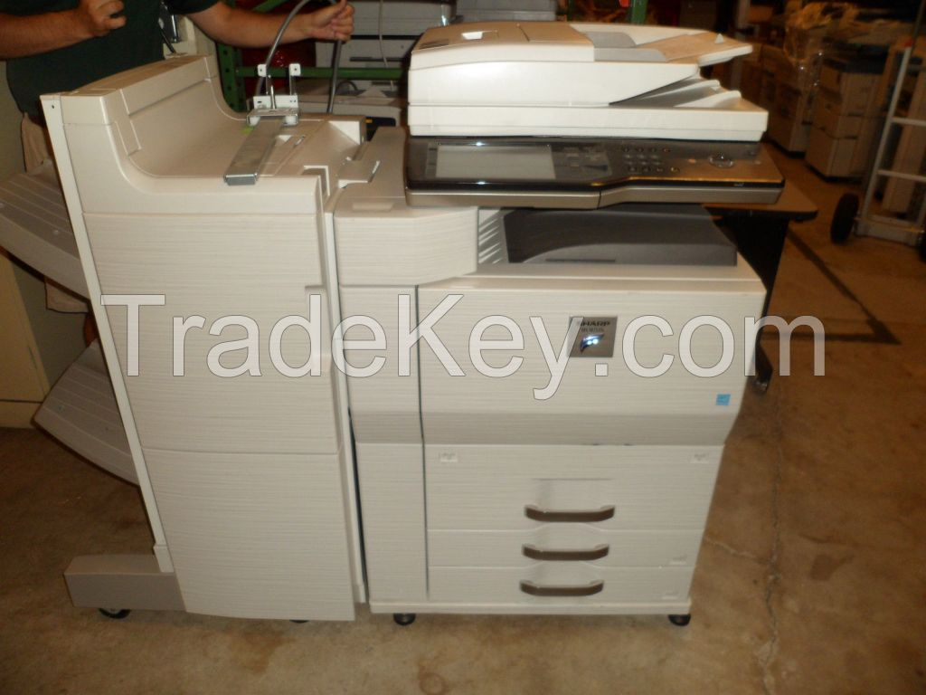 Sharp MX-M753N B/W Used 75 ppm and Maximum Paper Capacity 5K