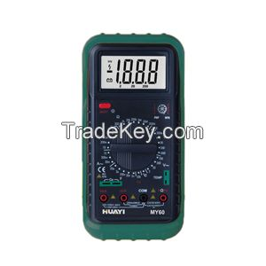 MY60/MY61/MY64/MY67/MY68 green color digial multimeter huayi