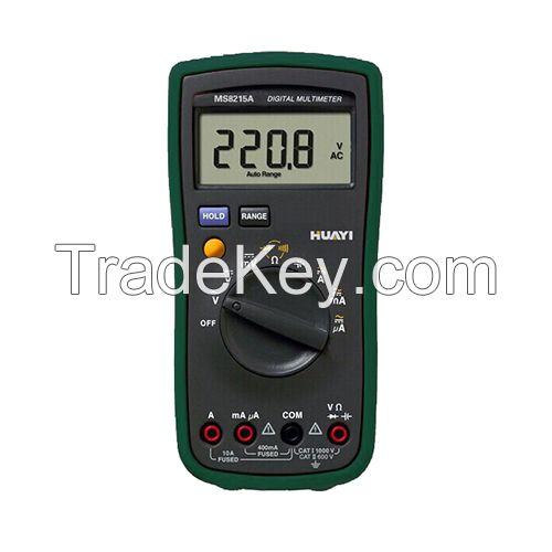 MS8215A digital multimeter 4000 counts test resistance capacitance