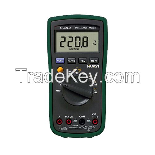 MS8217A digital multimeter 4000 counts test resistance capacitance