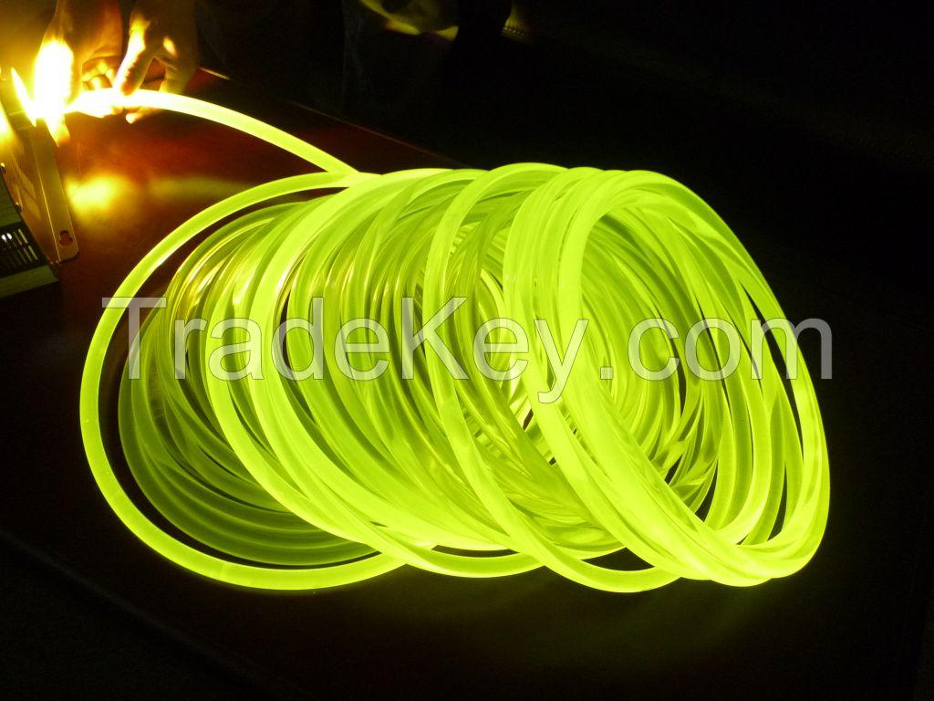 free  sample side glow fiber optic for lighting