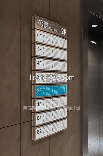 Signage and Specifier Guide
